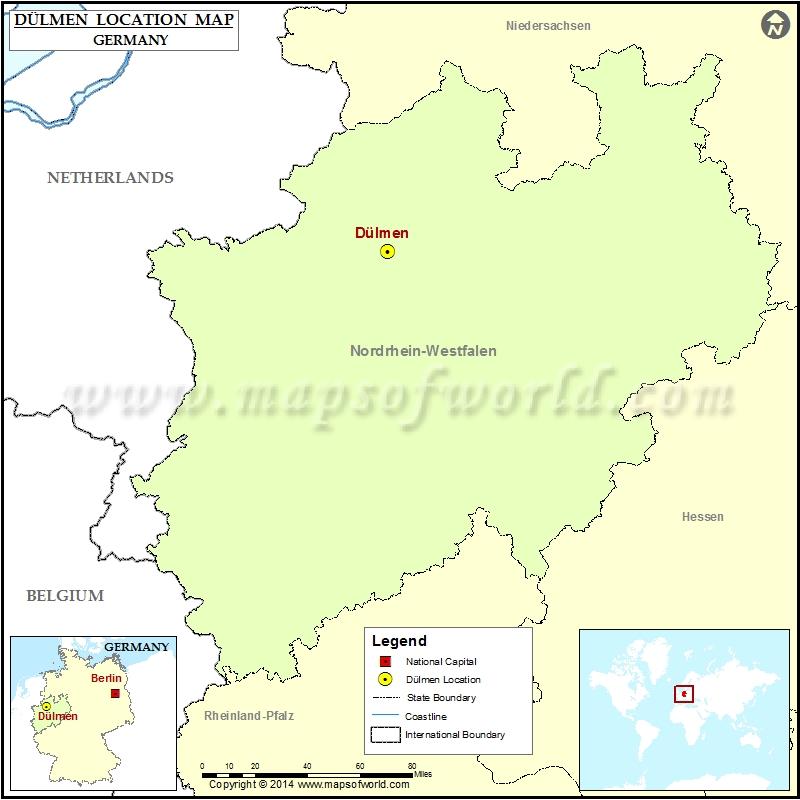Where is Dulmen