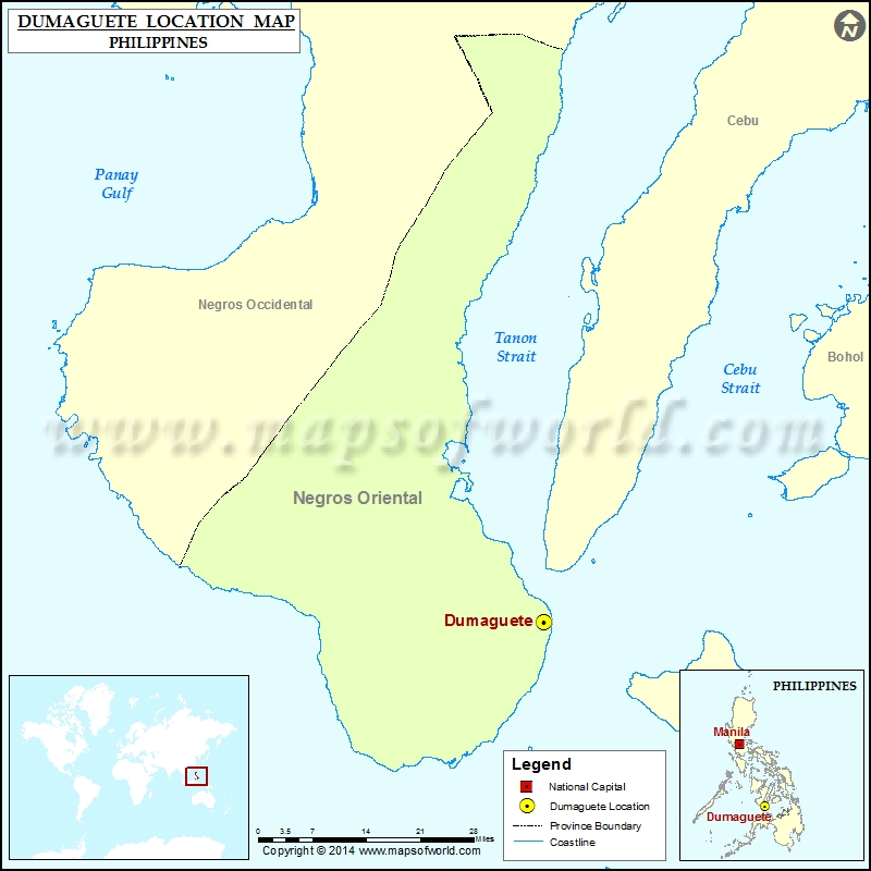 Where is Dumaguete