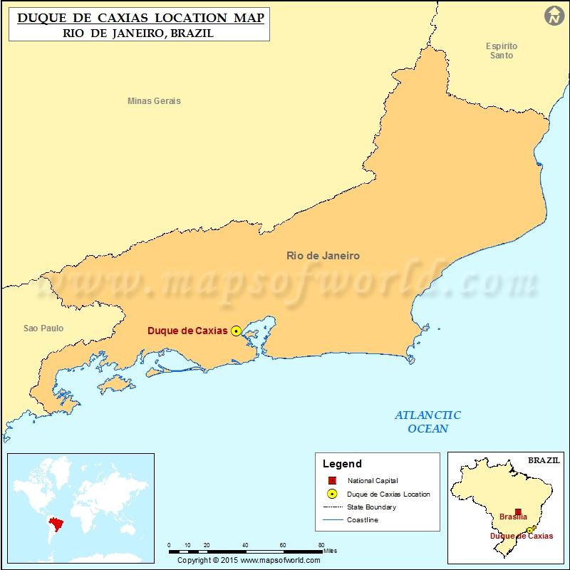 Where is Duque de Caxias
