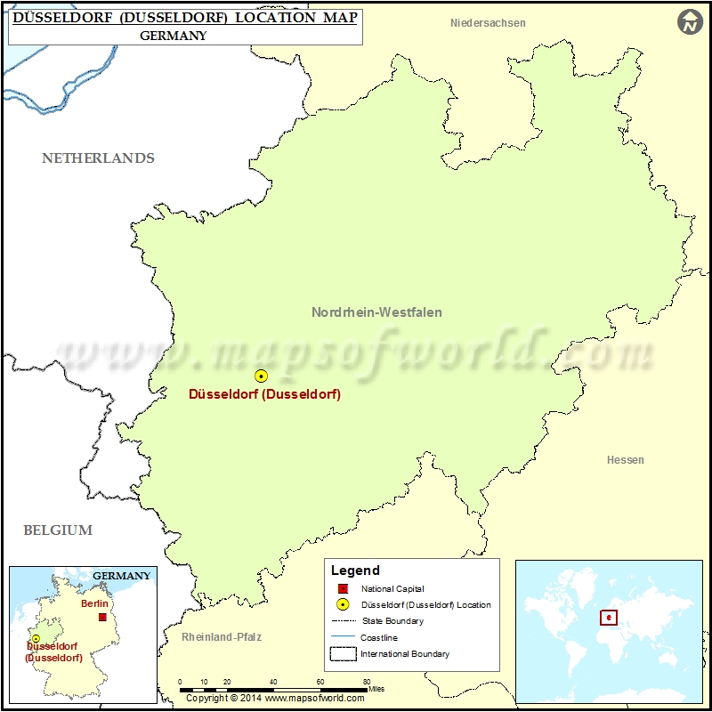 Where is Dusseldorf