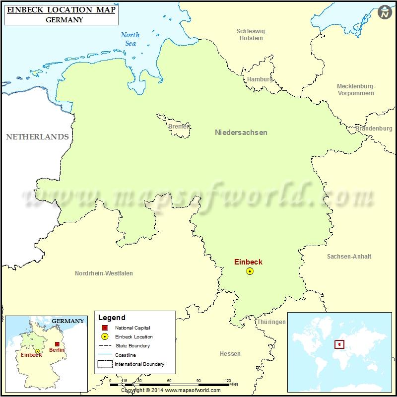 Where is Einbeck