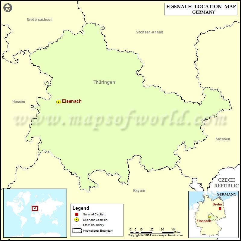 Where is Eisenach