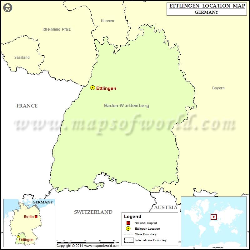 Where is Ettlingen