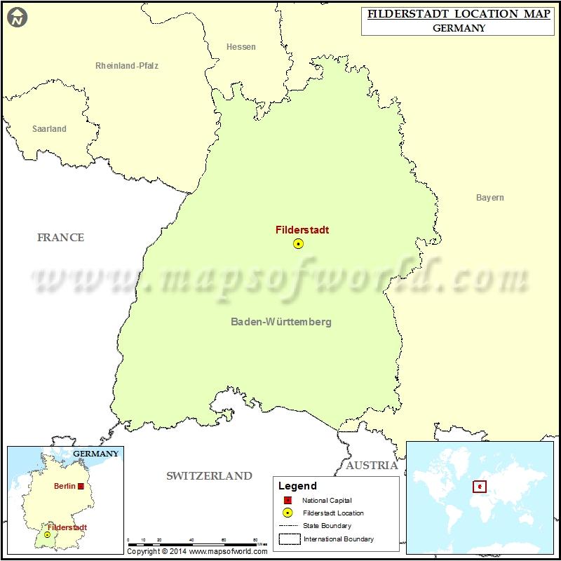 Where is Filderstadt