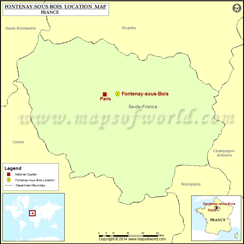 Where is Fontenay-sous-Bois