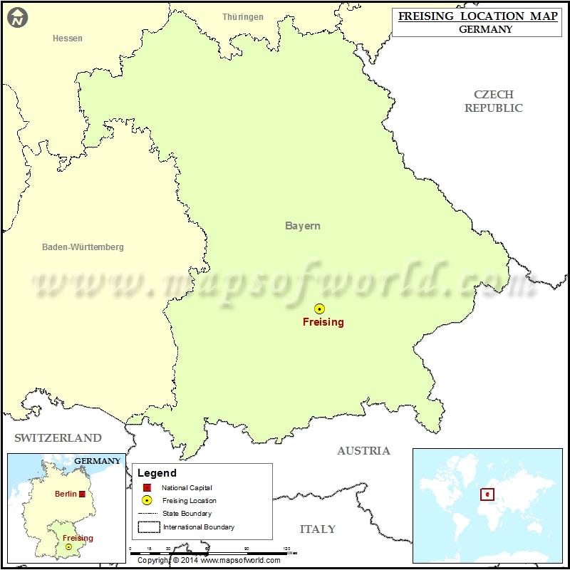 Where is Freising