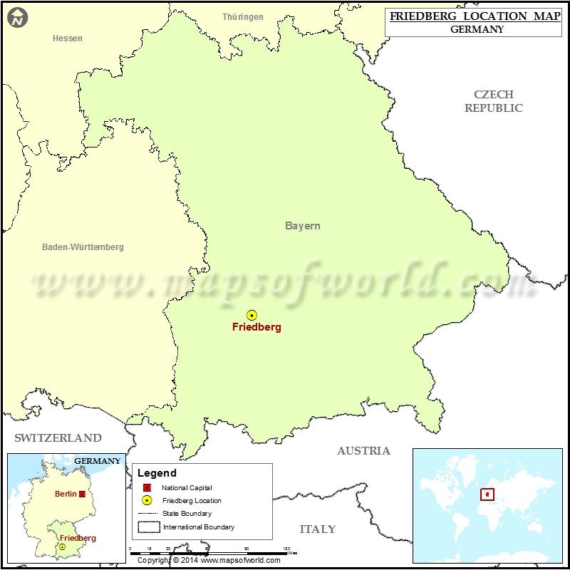 Where is Friedberg Bayern