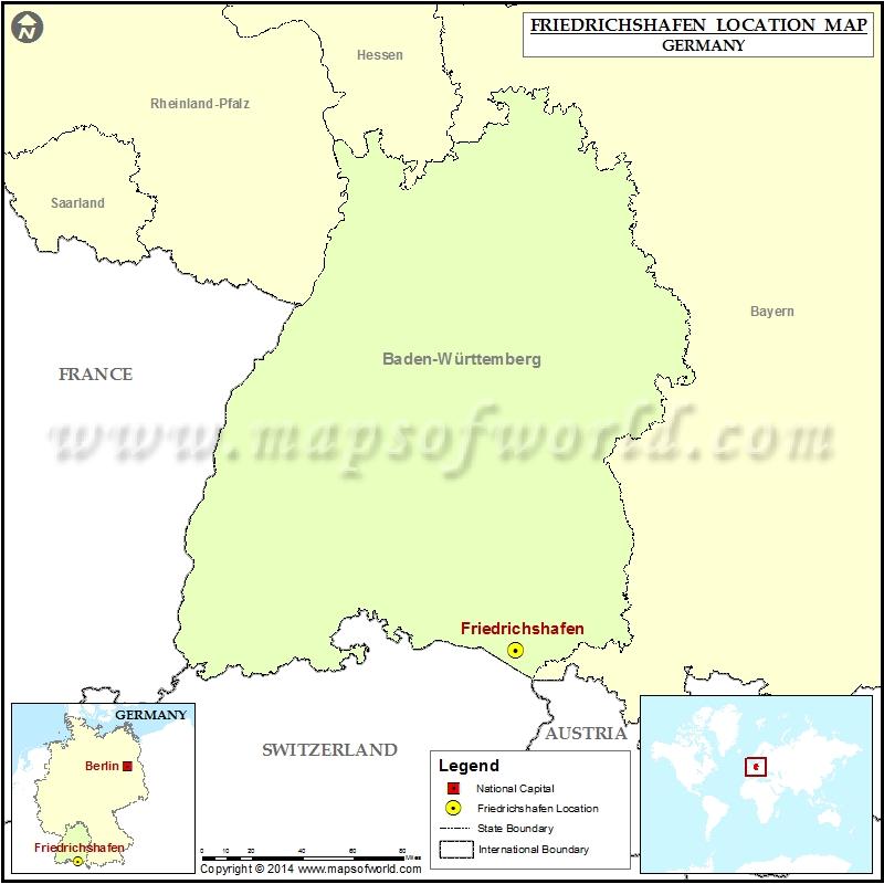 Where is Friedrichshafen
