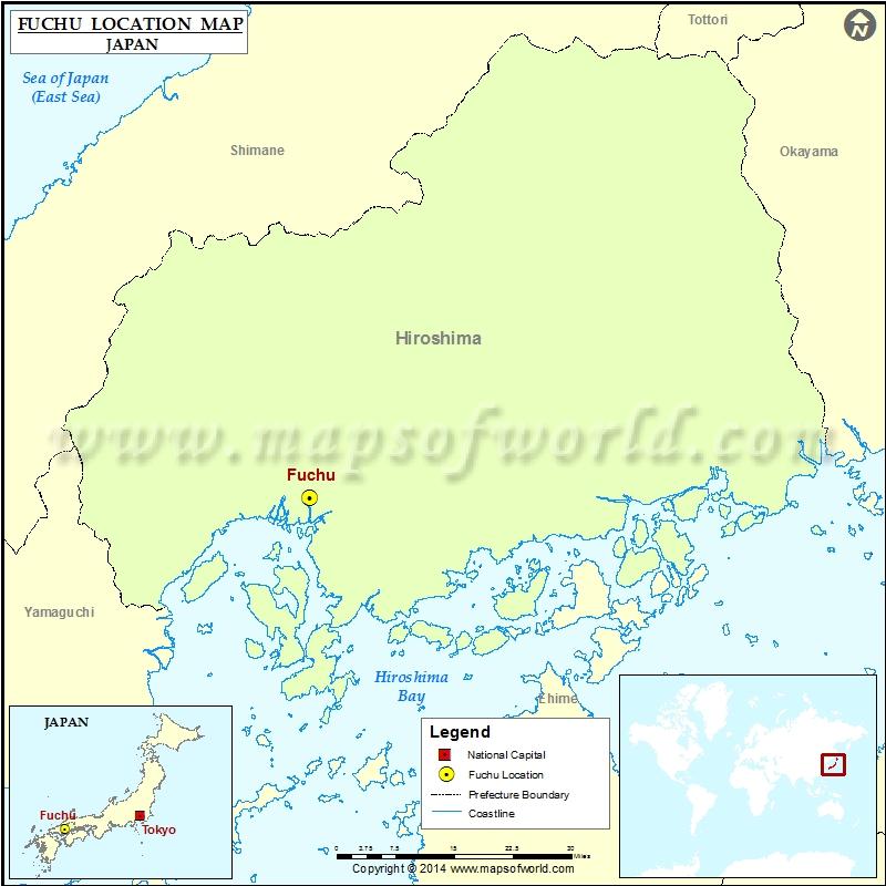 Where Is Fuchu Location Of Fuchu In Japan Map - Fuchu map