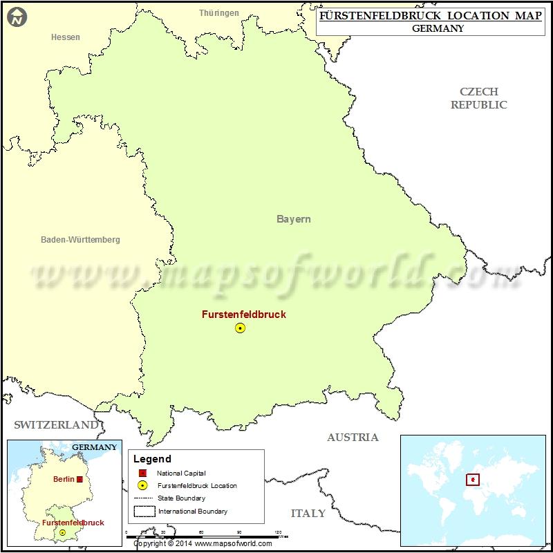 Where is Furstenfeldbruck