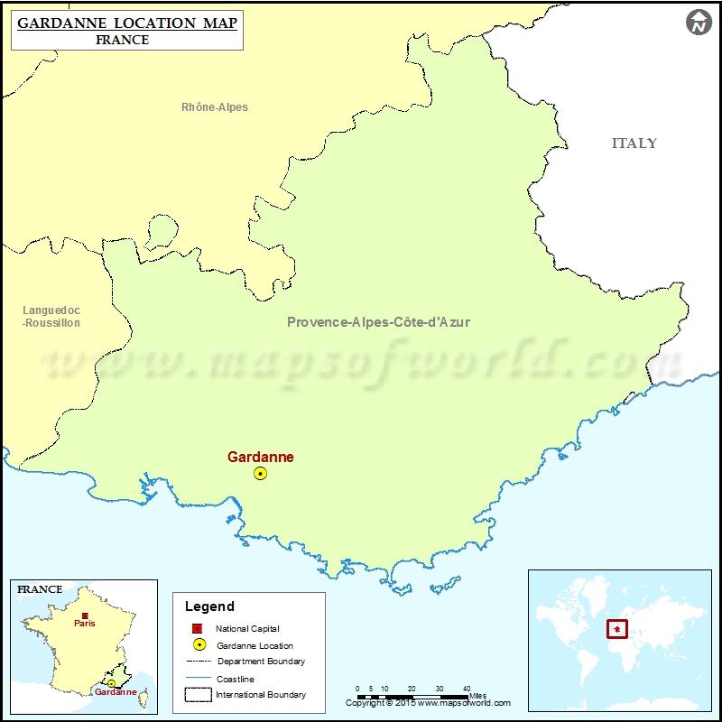 Where is Gardanne