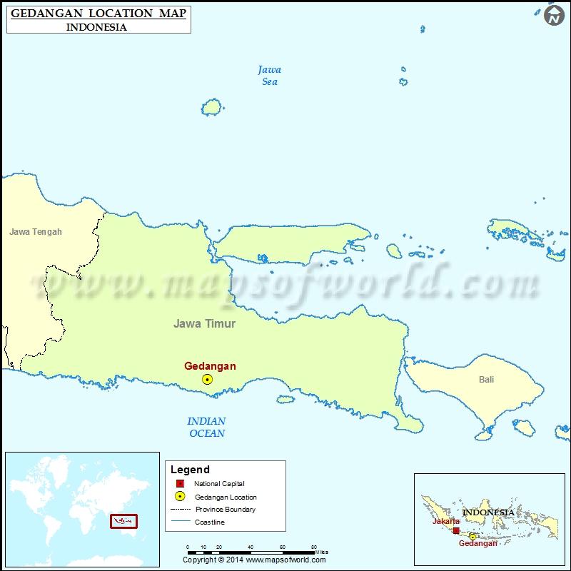 Where is Gedangan