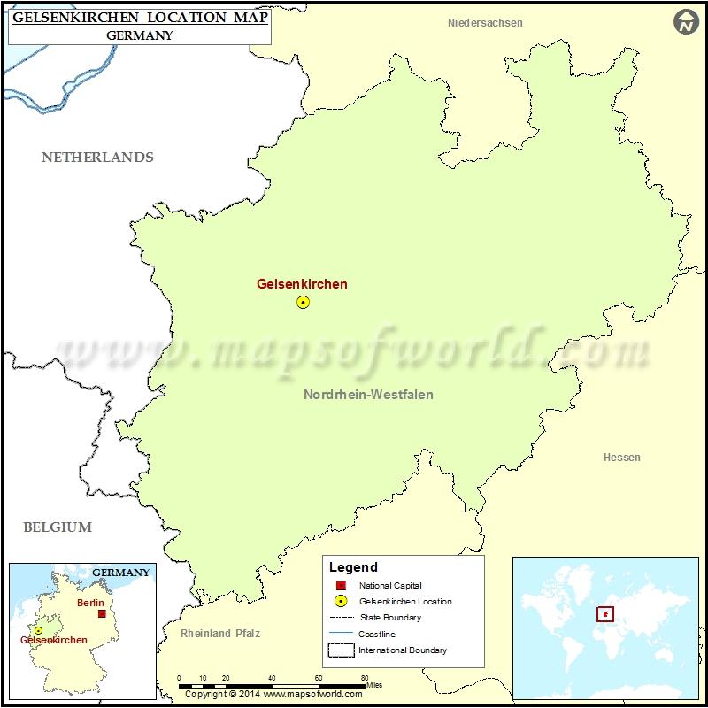 Where is Gelsenkirchen