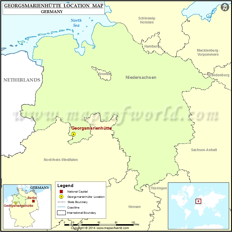 Where is Georgsmarienhutte