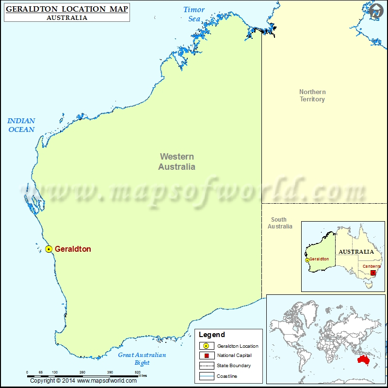 Where is Geraldton