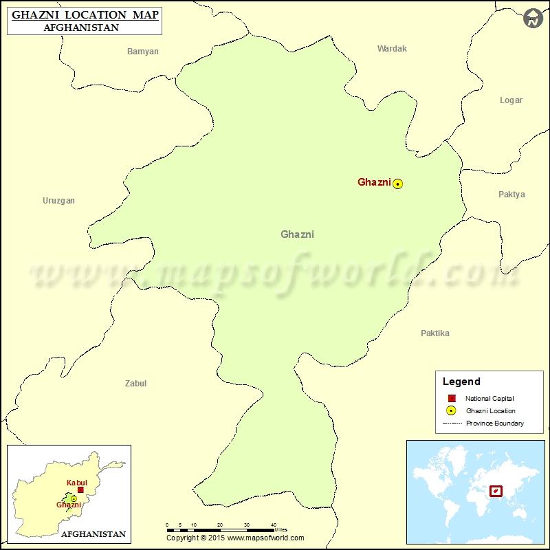 Where is Ghazni