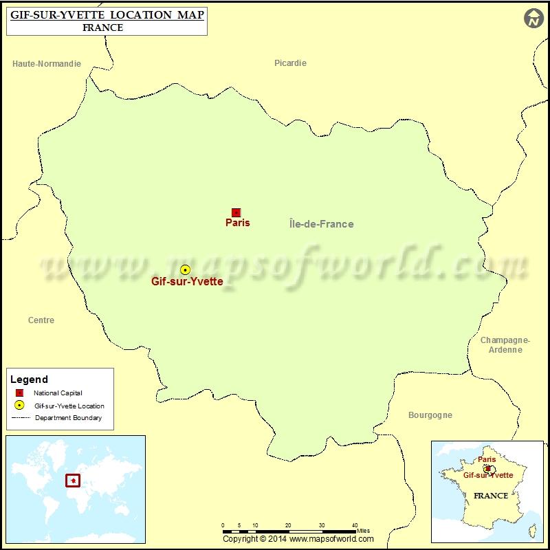 Where is Gif-sur-Yvette