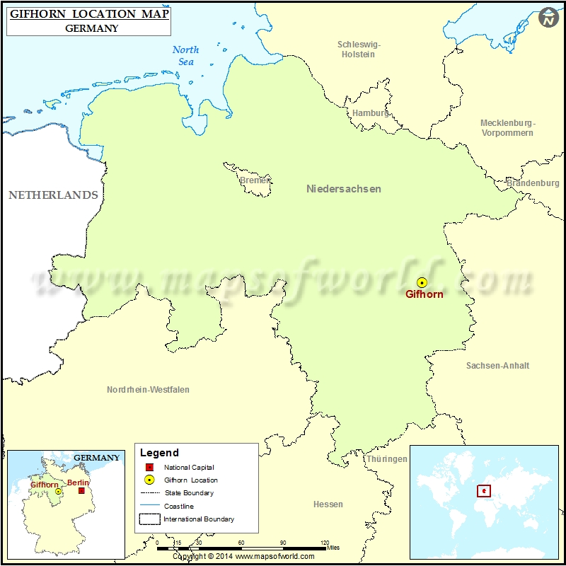 Where is Gifhorn