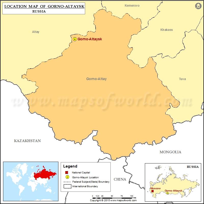 Where is Gorno-Altaysk