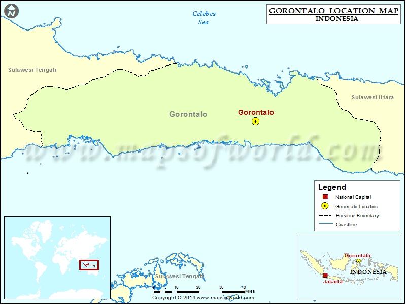 Where is Gorontalo