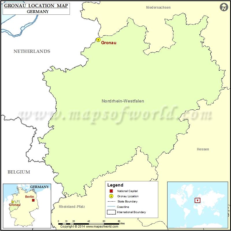Where is Gronau