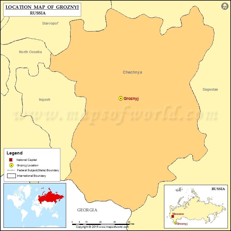 Where is Groznyj