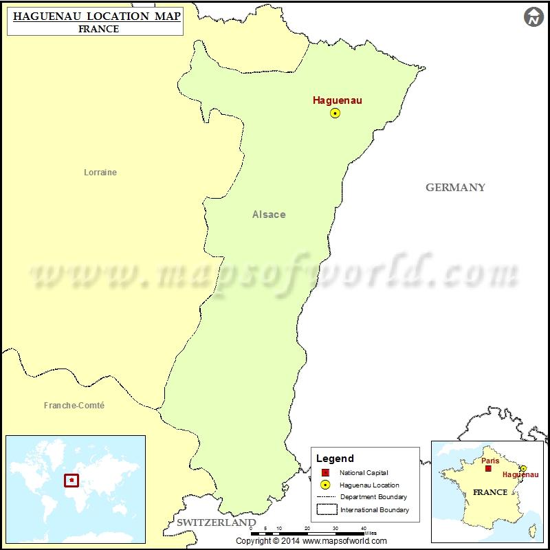 Where is Haguenau