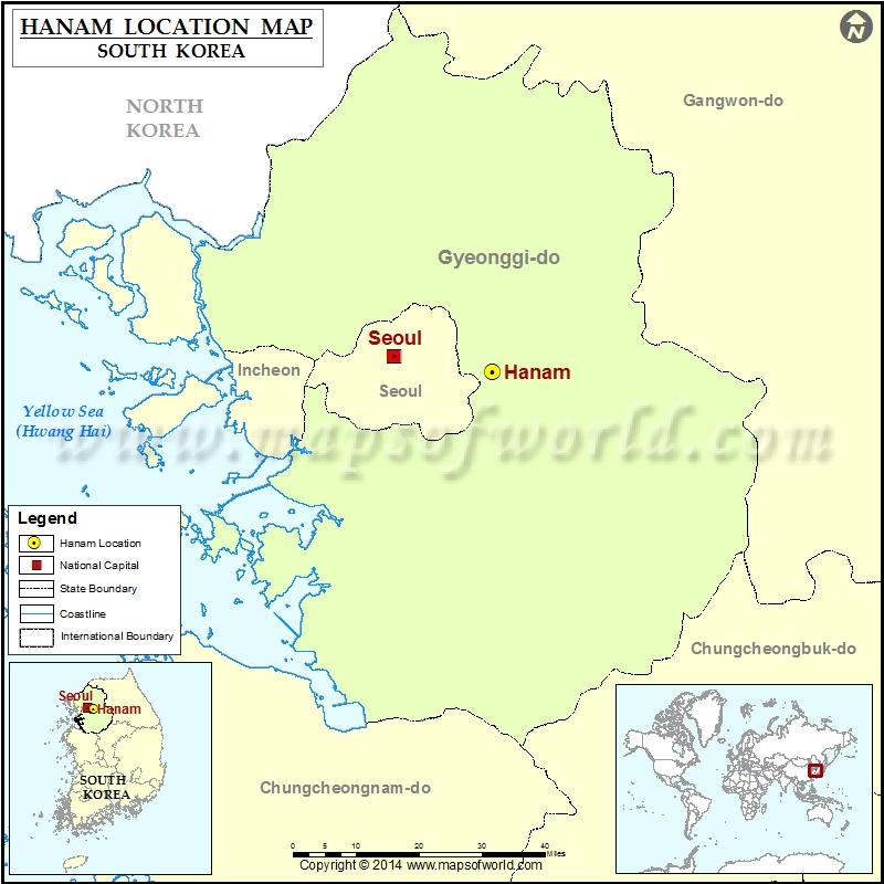 Where is Hanam