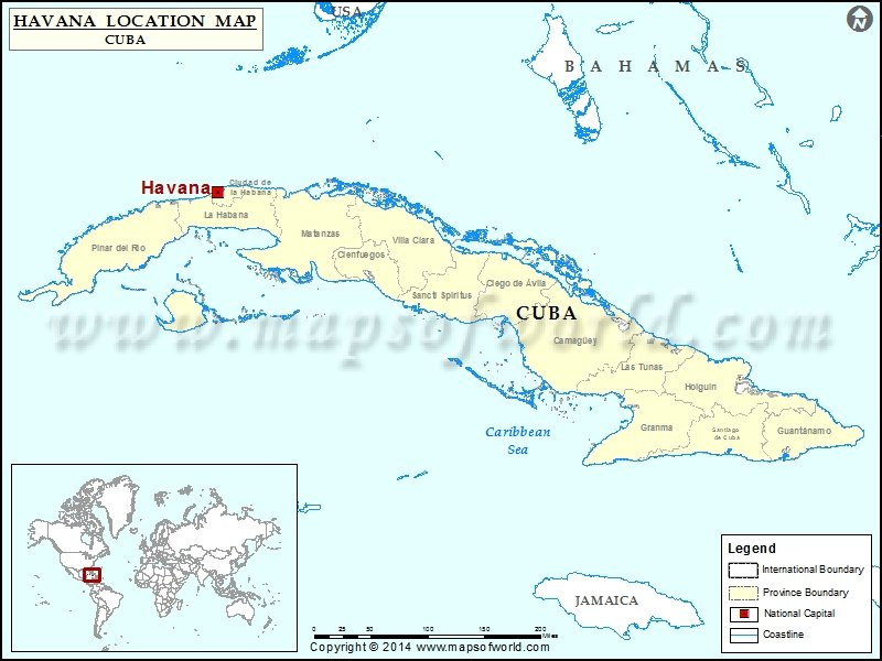 Where is havana location of havana in cuba map description map showing location of havana in cuba gumiabroncs Images