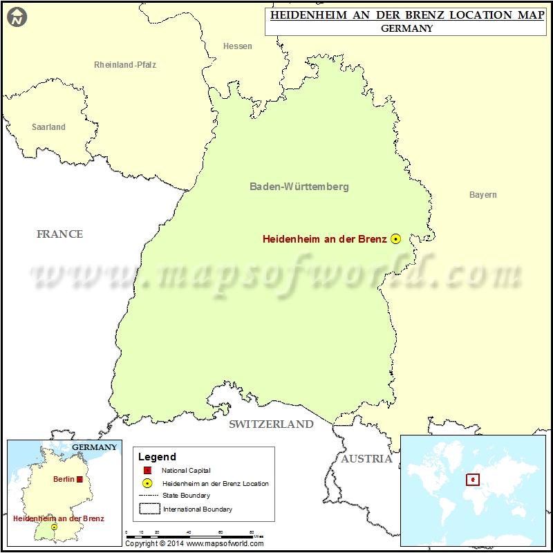 Where is Heidenheim an der Brenz