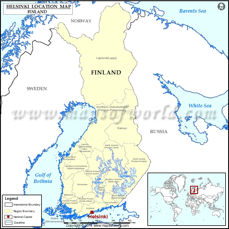 Where is helsinki location of helsinki in finland map where is helsinki gumiabroncs Gallery
