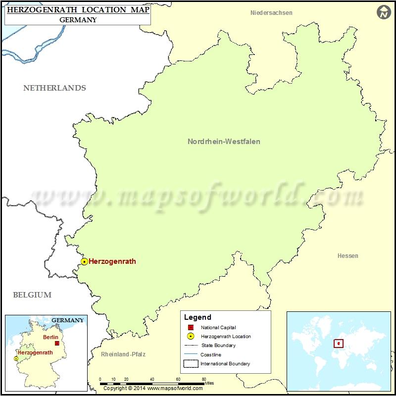 Where is Herzogenrath
