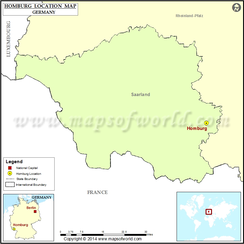 Where is Homburg