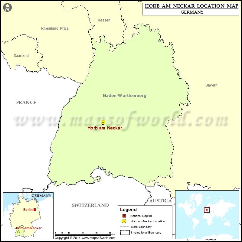 Where is Horb am Neckar