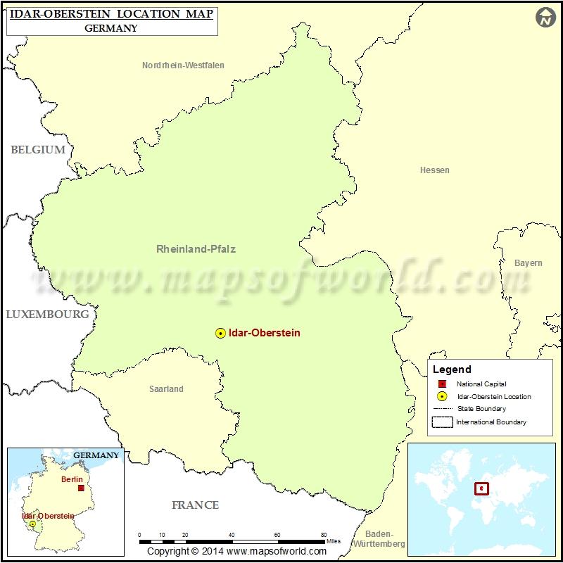 Where is Idar Oberstein