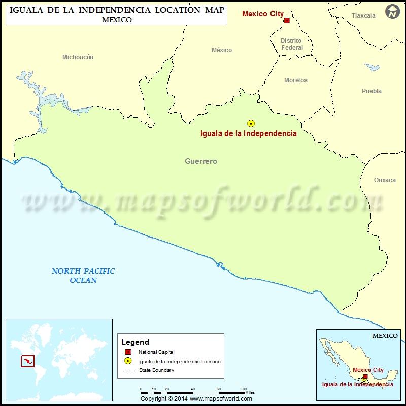 Where is Iguala de la Independencia
