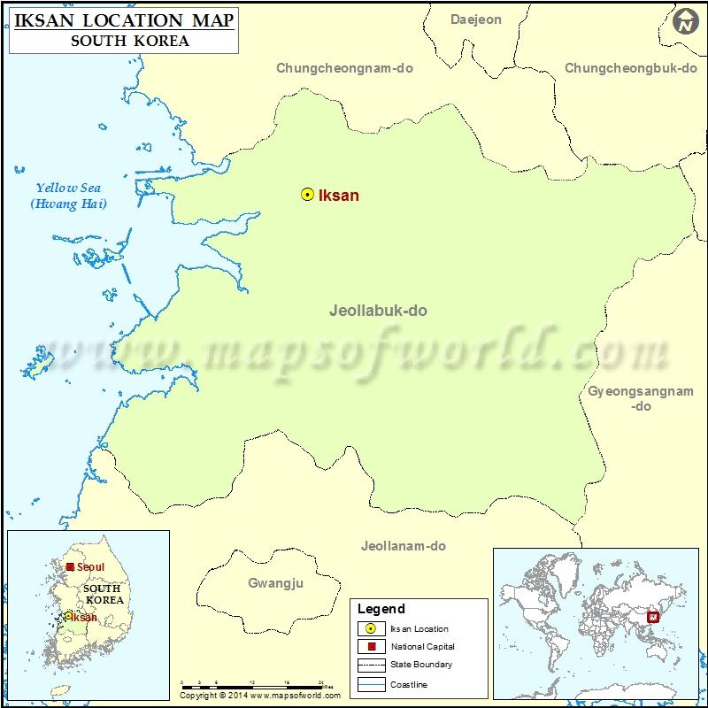 Where is Iksan