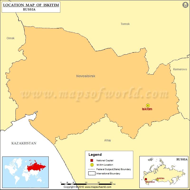 Where is Iskitim