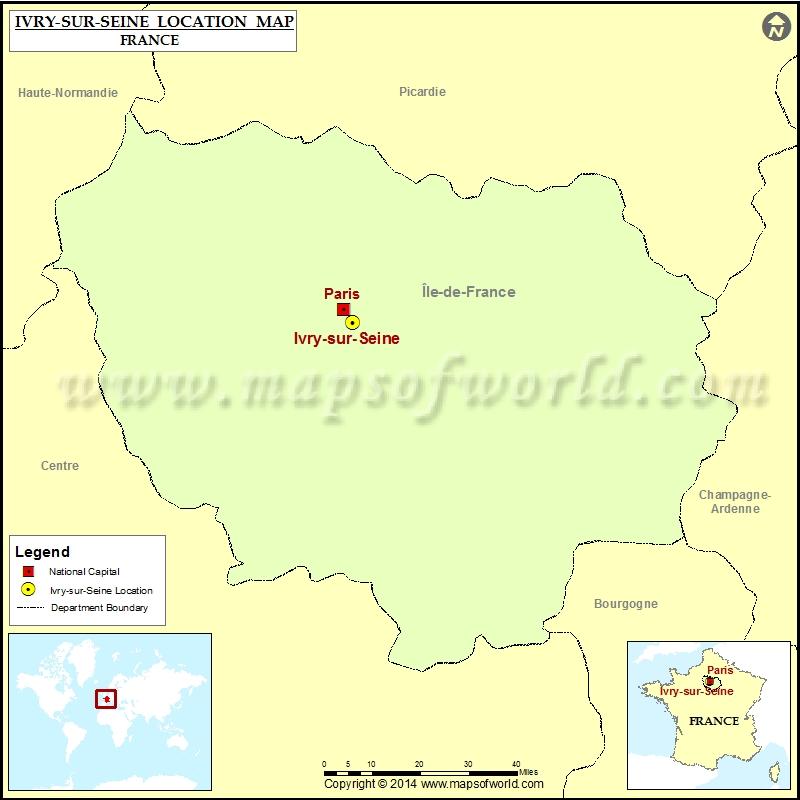 Where is Ivry-sur-Seine