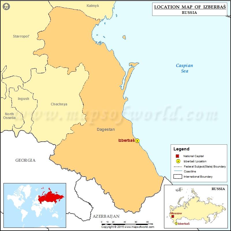 Where is Izberbas