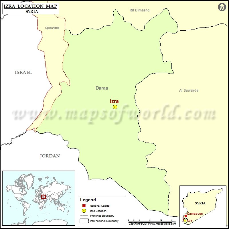 Where is Izra