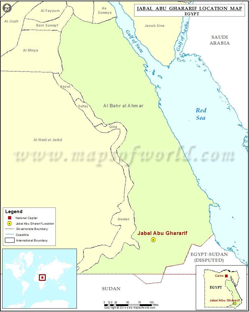 Where is Jabal Abu Ghararif