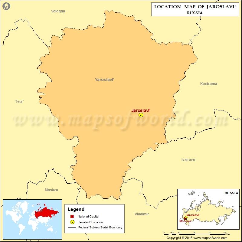 Where is Jaroslavl