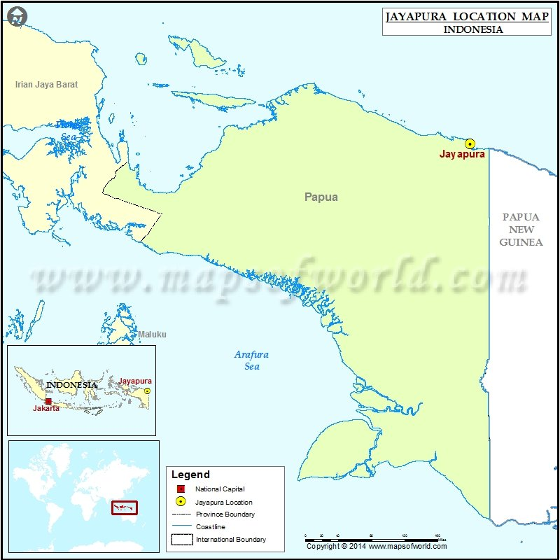 Where is Jayapura