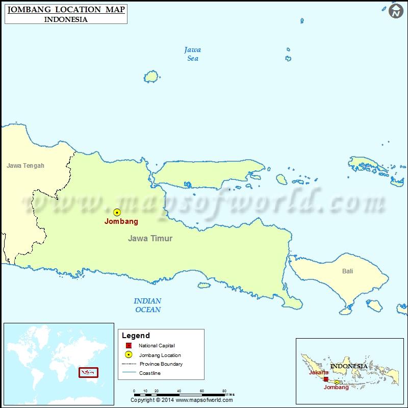 Where is Jombang