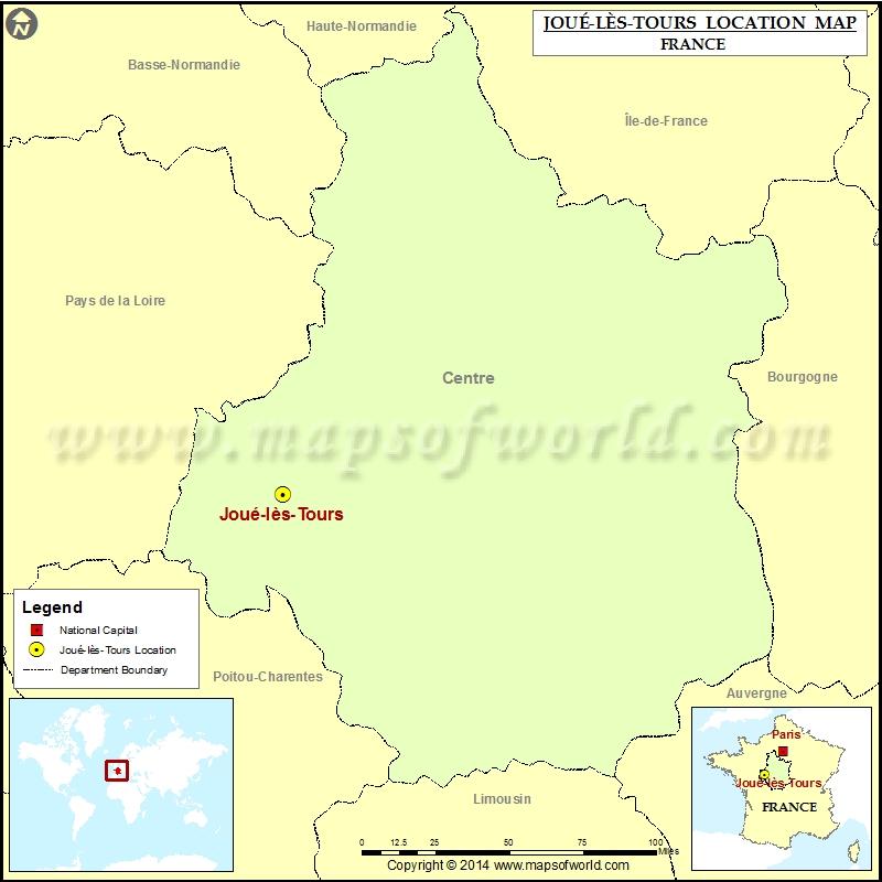 Where is Joue-les-Tours