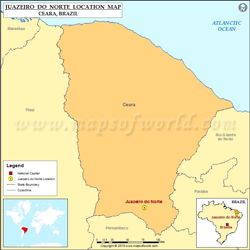 Where is Juazeiro do Norte