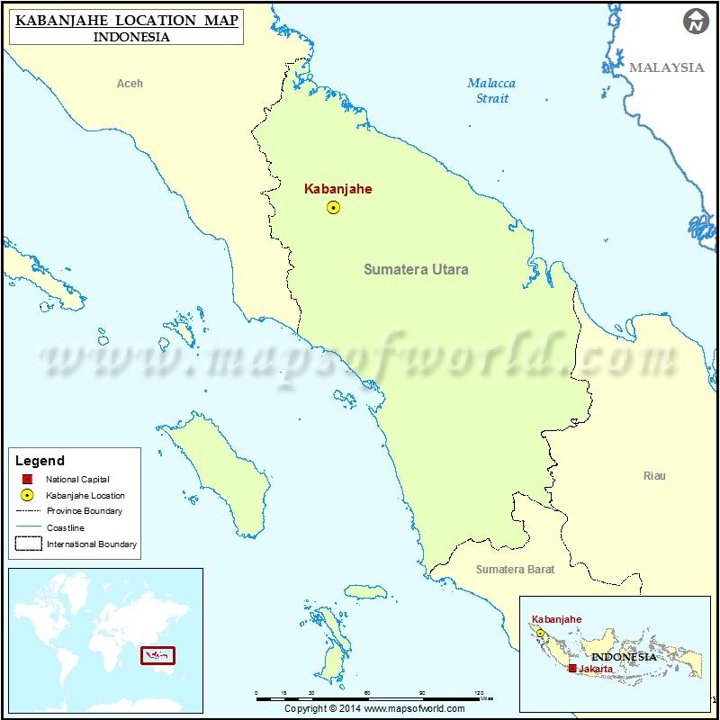 Where is Kabanjahe