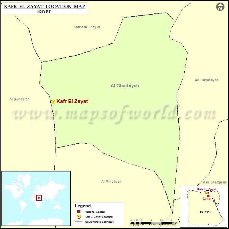 Where is Kafr El-Zayat