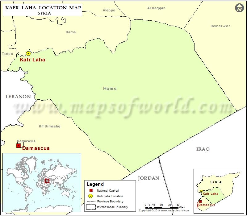 Where is Kafr Laha